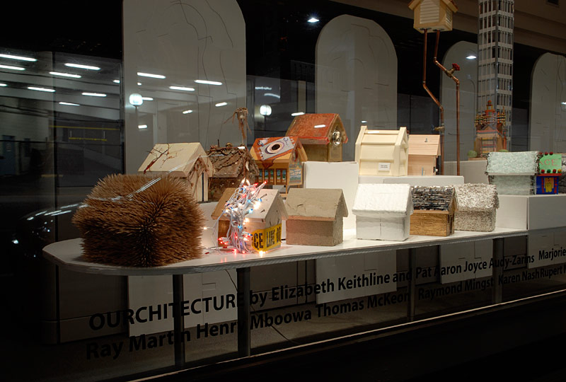 Installation view at RI Housing, part of Providence Art Windows 2006